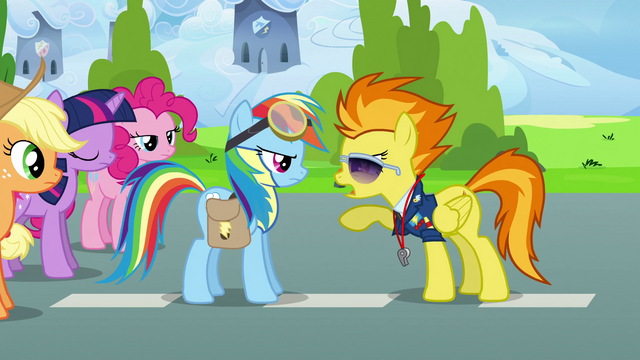 File:Spitfire talks to Rainbow Dash S3E07.png