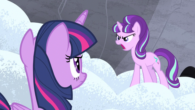 "File:Starlight ""spare me your sentimental nonsense!"" S5E2.png"