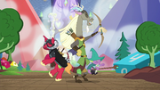 Discord, Big Mac and Spike LARPing S6E17.png