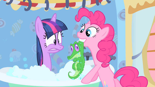 File:Pinkie Pie pulls Gummy out of the tub S1E15.png