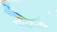Rainbow zips into the sky S1E01