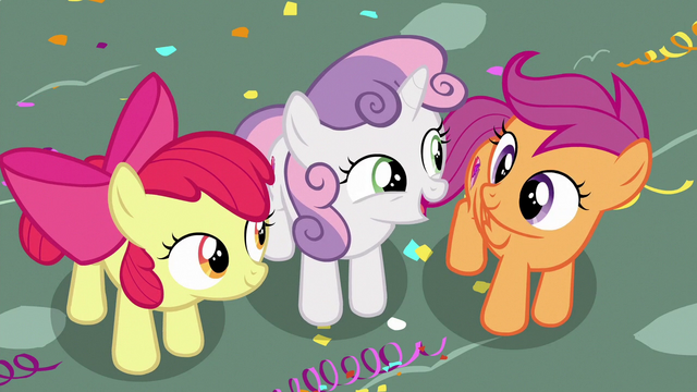 """File:Sweetie Belle calls Scootaloo """"pretty amazing"""" S6E19.png"""