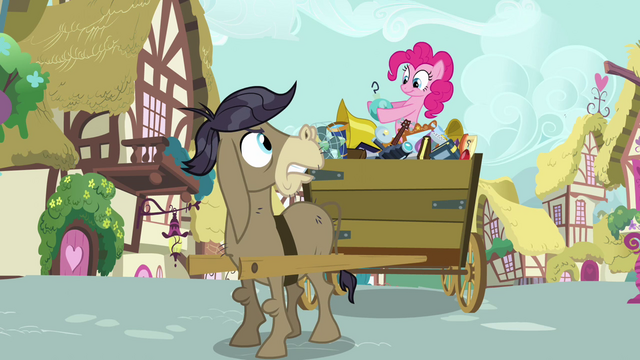 "File:Pinkie Pie and Cranky ""don't touch that!"" S02E18.png"