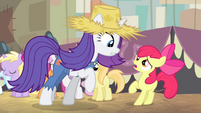 "Rarity and Apple Bloom ""that just ain't so"" S4E13"