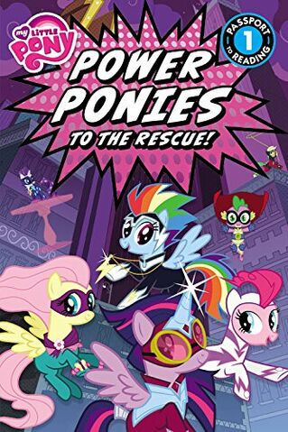 File:My Little Pony Power Ponies to the Rescue book cover.jpg