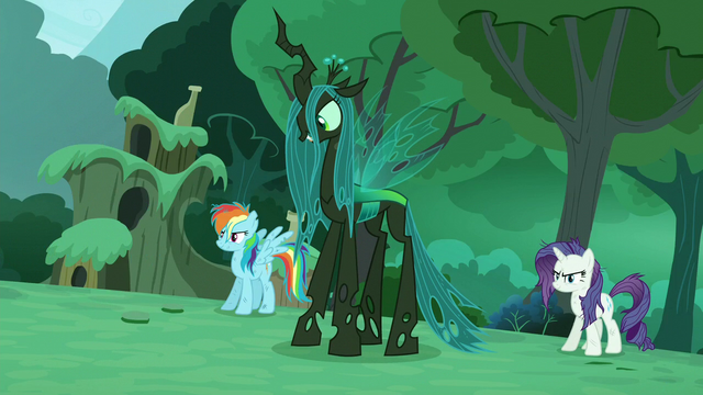 """File:Chrysalis """"You're vastly outnumbered"""" S5E26.png"""