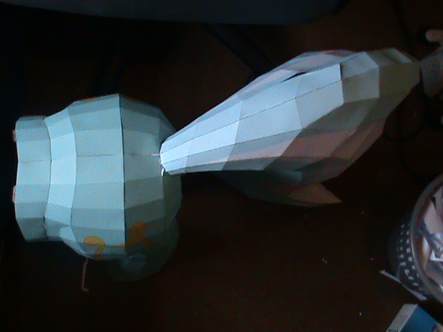 File:FANMADE Lyra papercraft incomplete topdown.jpg