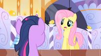 Fluttershy asks Twilight to keep a secret 2 S1E20