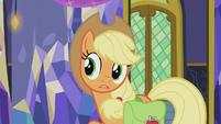 "Applejack ""tonight is Hearth's Warming EVE"" S5E20"