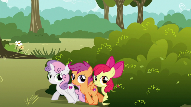 File:Cutie Mark Crusaders try to sneak away S6E19.png