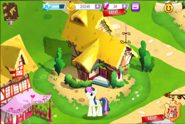 File:Gameloft Bonbon and her house.png