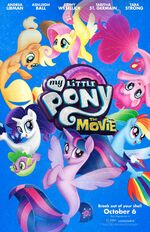 MLP The Movie SDCC exclusive poster