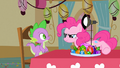 Pinkie Pie bringing over a lamp S1E25.png