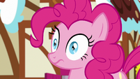 Pinkie Pie with widened eyes S7E9