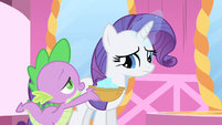 Rarity getting sequins S1E20
