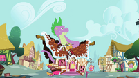 Spike ruins of sugarcube corner S02E10