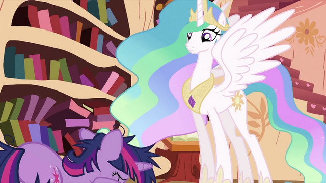 File:Twilight Sparkle face down S2E03.png