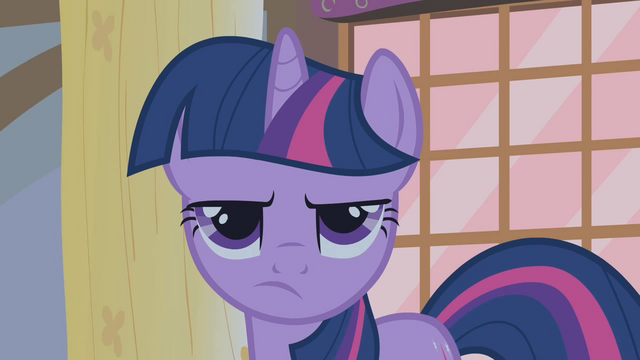 File:Twilight unconvinced by friends' suspicions of the Everfree Forest S1E09.png