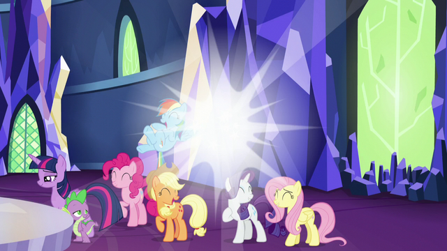 File:Spark of light behind main cast S5E22.png