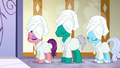 Spoiled, Buddy, and Shoeshine still waiting in line S6E10.png