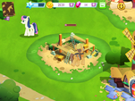 Building Mrs. Cupcake's house MLP Game