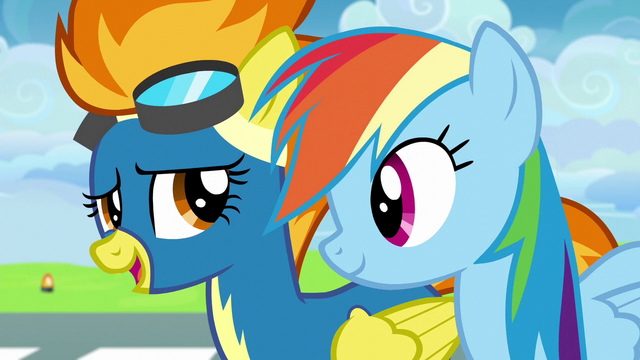 """File:Spitfire """"you've seen the academy bunks"""" S6E7.png"""