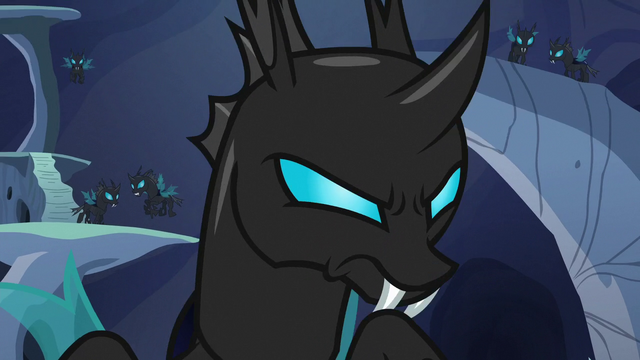 File:Changeling giving a mean look S6E26.png