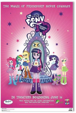 Equestria Girls second movie poster