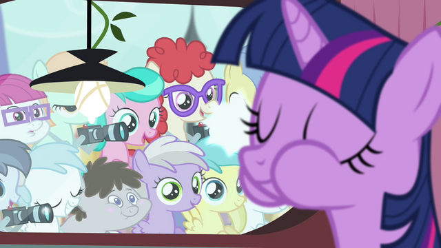 File:Foals looking at Twilight eating S4E15.png