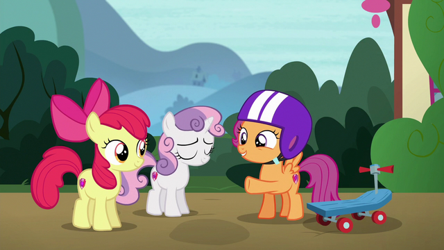 """File:Scootaloo """"be extra-special clear with her"""" S6E19.png"""