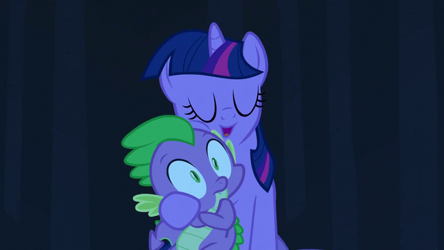 File:Spike and Twilight hug 2 S3E2.png
