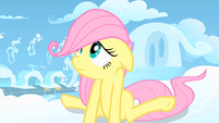 Filly Fluttershy embarrassed S1E23