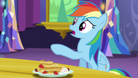 "Rainbow Dash calls Twilight ""out of it"" S5E3"
