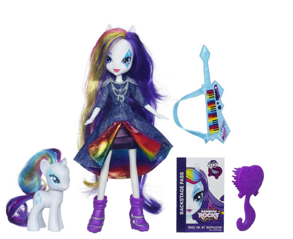 File:Rarity Equestria Girls Rainbow Rocks and pony set.png