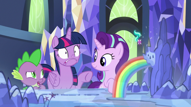 """File:Spike """"that's not why she looks like that"""" S7E10.png"""