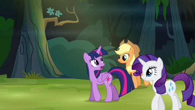 File:Twilight and friends in the forest S4E04.png