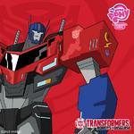 Optimus Prime Cutie Mark Magic Facebook image