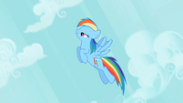 Rainbow Dash I'm coming S2E8