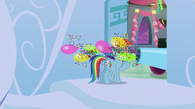 File:Rainbow gets blasted with confetti and balloons S6E7.png