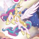 Comic issue 4 Princess Celestia battle armor