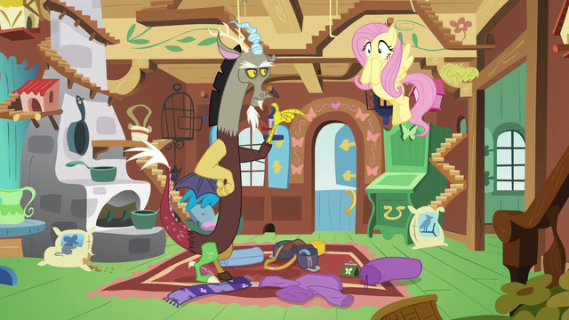 File:Fluttershy blushing with embarrassment S6E17.png