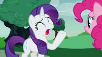 "Rarity ""the show is cancelled!"" S7E9"