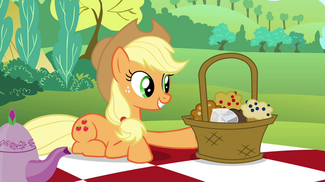 File:Applejack wants Maud to try out the muffins S4E18.png