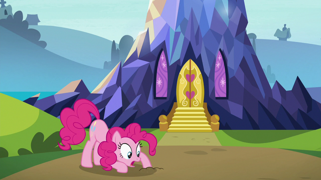 """File:Pinkie Pie """"buried itself in the ground"""" S7E4.png"""