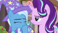 Trixie having a laugh at Starlight's expense S6E25
