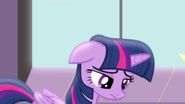 File:Twilight upset for having to stay in Canterlot without her friends S4E01.png
