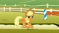Applejack getting up S1E13