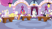 Contest ponies in varying degrees of excitement S7E9.png