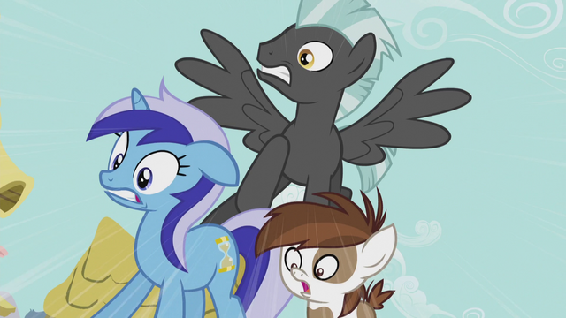 File:Minuette, Thunderlane, and Pipsqueak in shock S5E9.png