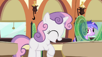 Sweetie Belle excited squealing S03E11